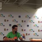 press conference foto