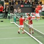 Primera jornada de la Copa Davis