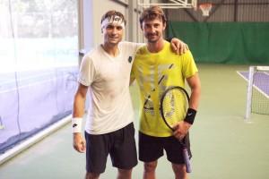 Juan Carlos Ferrero with David
