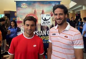 David Ferrer y Feliciano Lopez
