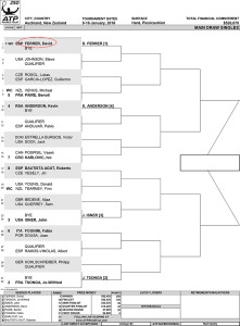 Auckland draw 2016